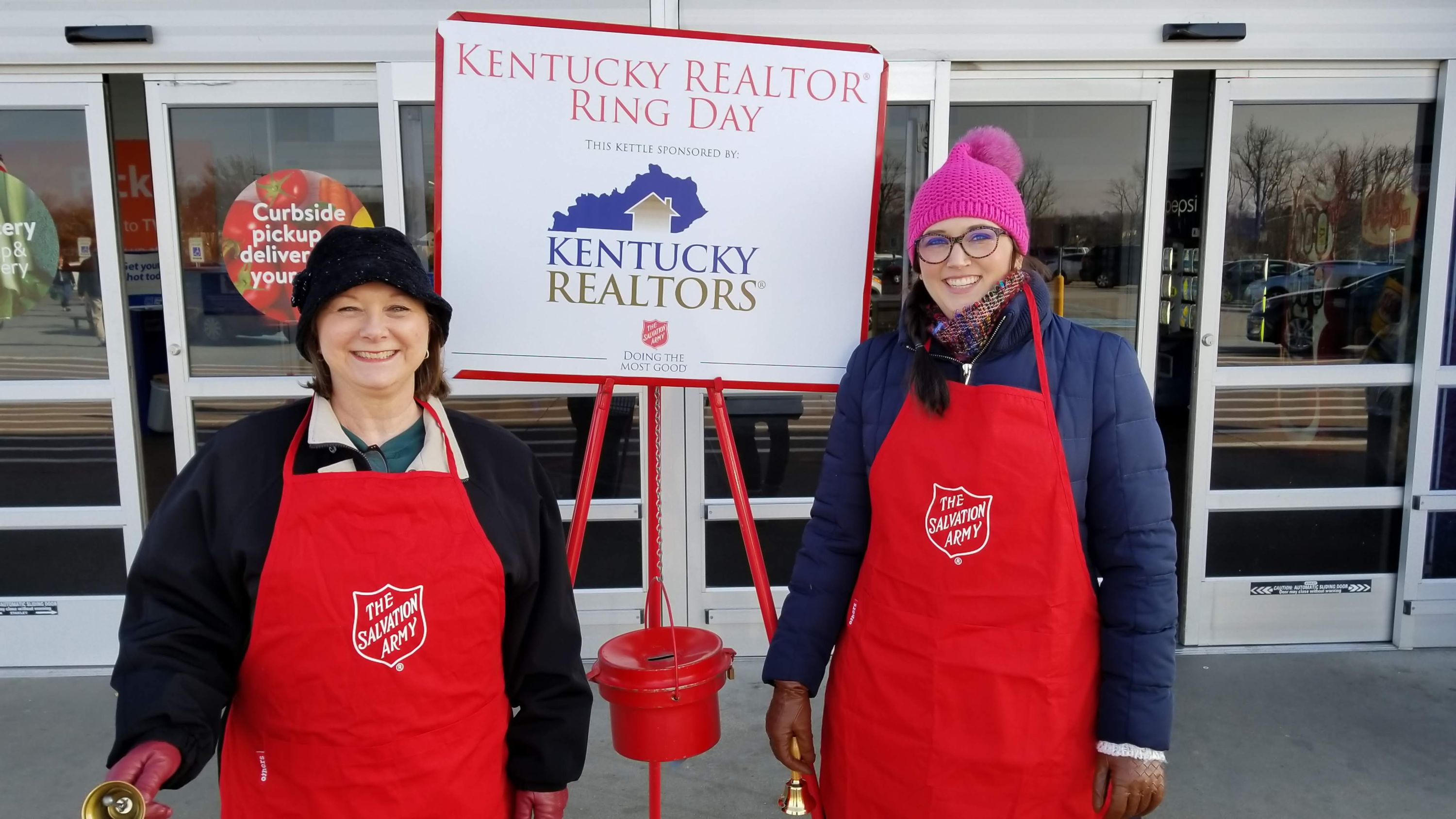 Kentucky REALTOR® Ring Day Raises over $13,000 for Salvation Army